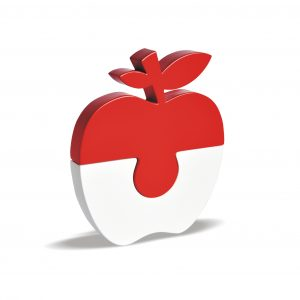 apple puzzle R&W